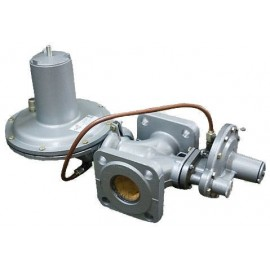 Регулятор давления газа РДНК-400 со сбросным клапаном