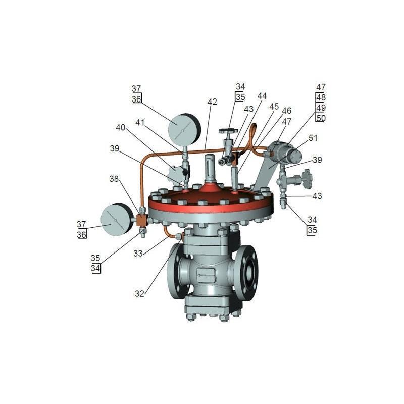Регулятор давления газа РД-100-64