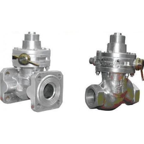Клапан предохранительный запорный ПКК-40МС-0.6