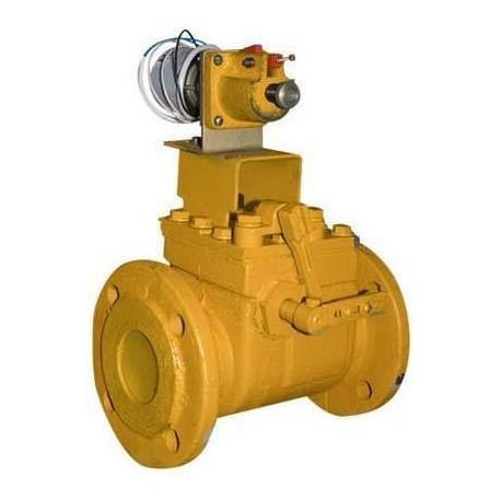 Клапан предохранительный запорный электромагнитный КПЭГ-100