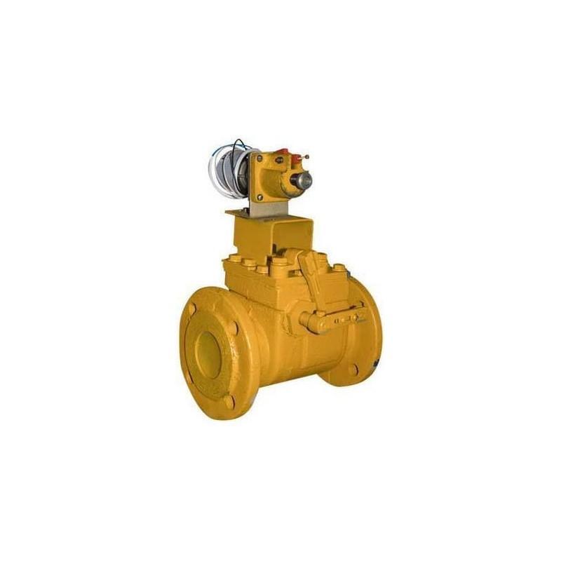 предохранительный запорный клапан газовый электромагнитный