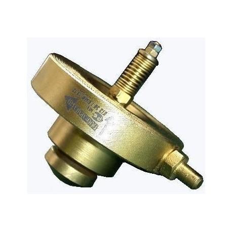 Клапан термозапорный КТЗ 001-400-МФ межфланцевый