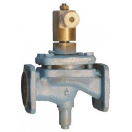 Клапан электромагнитный запорный фланцевый СВМ Ду25 Ру 1.6 МПа 15кч888р. 15кч888р1