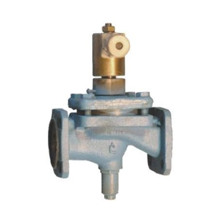 Клапан электромагнитный запорный фланцевый СВМ Ду50 Ру 1.6 МПа 15кч888р. 15кч888р1