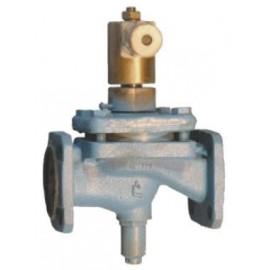 Клапан электромагнитный запорный фланцевый СВМ Ду65 Ру 1.6 МПа 15кч888р. 15кч888р1