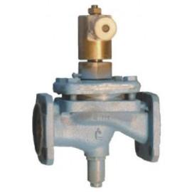 Клапан электромагнитный запорный фланцевый СВМГ Ду25 Ру 0.1 МПа 15кч883р. 15кч883р1