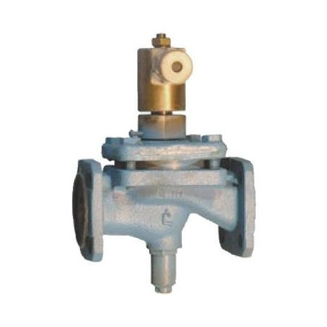 Клапан электромагнитный запорный фланцевый СВМГ Ду65 Ру 0.1 МПа 15кч883р. 15кч883р1