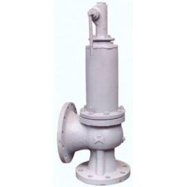 Клапан предохранительный пружинный сбросной фланцевый СППК5 100-40 17с23нж (клим. исп. У1) сталь 20Л