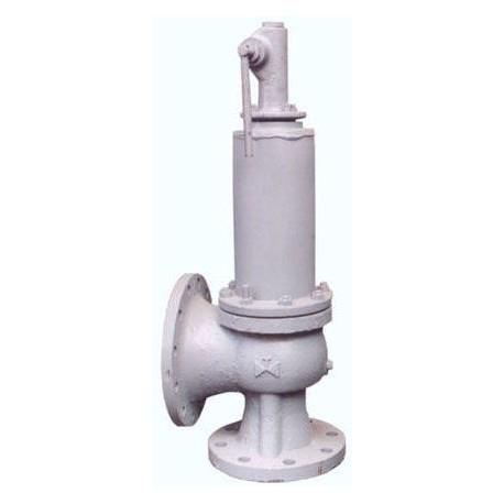 Клапан предохранительный пружинный сбросной фланцевый СППК5100-63-01 17с16нжЗ (клим. исп. У1) сталь 20Л