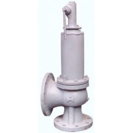 Клапан предохранительный пружинный сбросной фланцевый СППК5 100-160-01 17с8нжЗ (клим. исп. У1) сталь 20Л