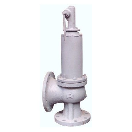 Клапан предохранительный пружинный сбросной фланцевый СППК4Р 80-40 ХЛ1 17лс25нж (клим. исп. ХЛ1) сталь 20ГЛ ( 09Г2С )