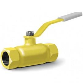 Кран шаровый газовый 11лс41нж муфтовый КШ-15-25 (-2.5 МПа)