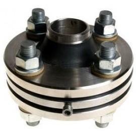 Клапан предохранительный пружинный сбросной фланцевый СППК4Р 150-40М 17с21нж (клим. исп. У1) сталь 20Л