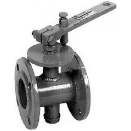 Заслонка дроссельная ЗД-125 Pу 0.1 МПа (газ)