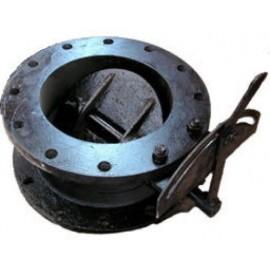 Заслонка дроссельная (клапан) ДХ-400 Pу1.6 МПа (газ)