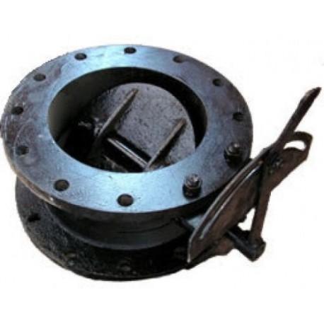 Заслонка дроссельная (клапан) ДХ-500 Pу1.6 МПа (газ)