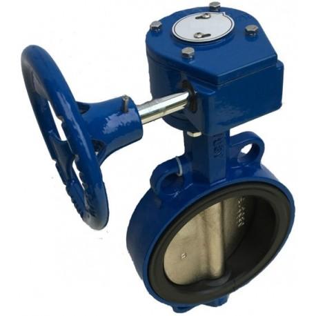 Заслонка (затвор) дроссельная ЗДП-300 Pу1.6 МПа (газ) поворотная
