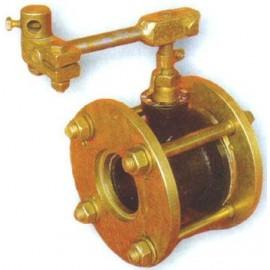 Заслонка малого сопротивления ЗМС-40 Pу 0.1 МПа (газ)