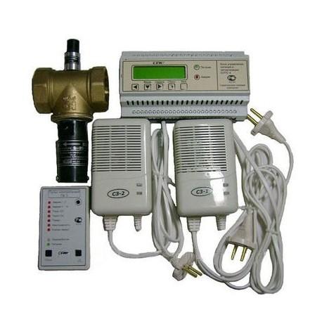 Система автоматического контроля загазованности САКЗ-МК-2-НД. Ду 40 СН+СО