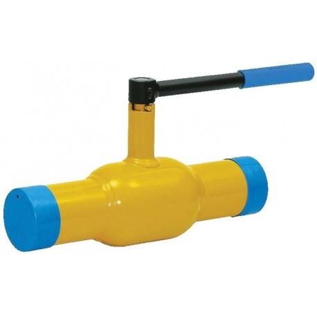 Кран шаровый газовый 11нж41нж муфтовый КШ-80-25 (-2.5 МПа)