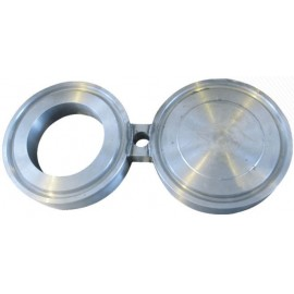 Заглушка поворотная межфланцевая (очки Шмидта, заглушка-восьмерка) АТК 26-18-5-93 Ду100 Ру1,6 МПа (Ру16 ) , ст. 12Х18Н10Т