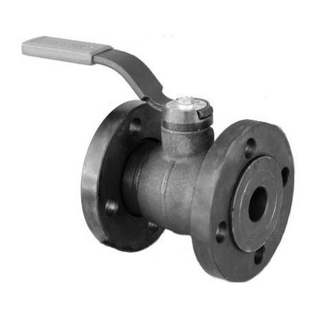 Кран шаровый газовый ГШК-20-2.5-Ф Ру2.5 МПа Ду20 фланцевый