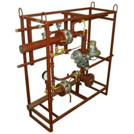 Кран шаровый газовый ГШК-40-2.5-М Ру2.5МПа Ду40 муфтовый