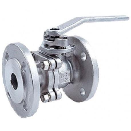 Кран шаровый газовый 11лс41нж фланцевый КШ-40-16 (-1.6 МПа)