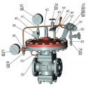 Регулятор давления газа РД